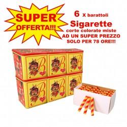Offerta Sigarette corte colorate